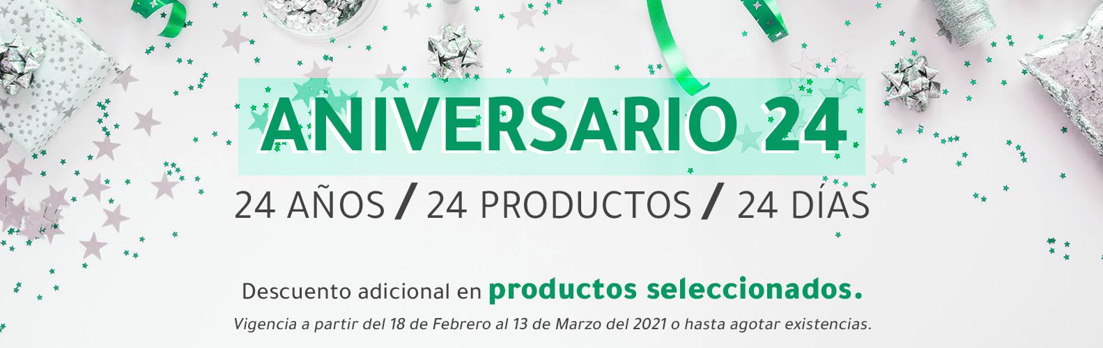 Aniversario 24